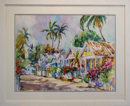 Cottage Lane in Key West