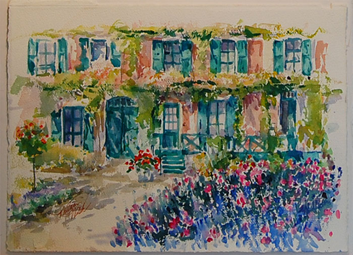 Chez Claude Monet
