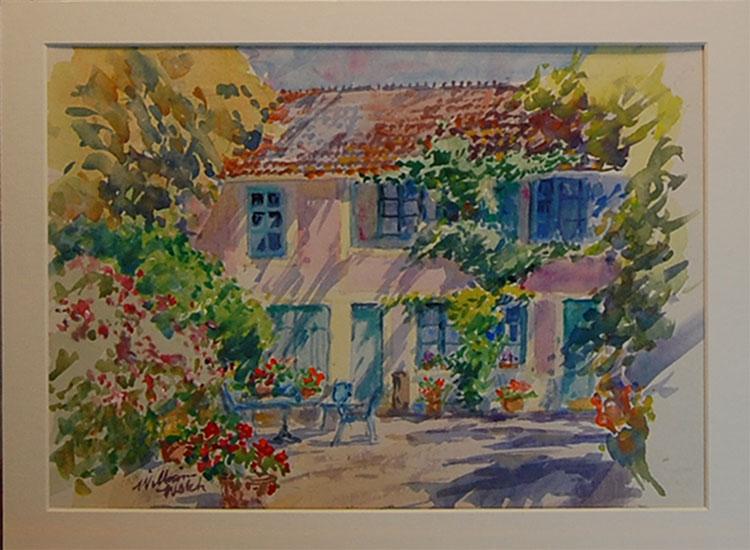 Monet's Courtyard