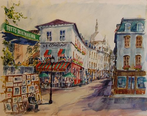 "Montmartre ""Where Painters Paint"""