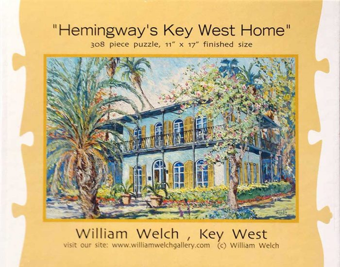 Hemingway's Key West Home Puzzle