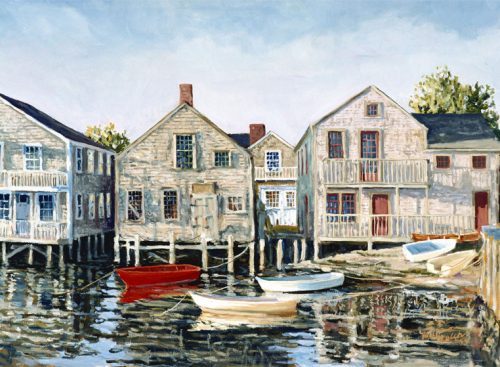 Cottages of Old North Wharf