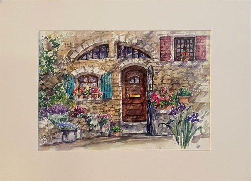 Doorway in Provence (16x20)