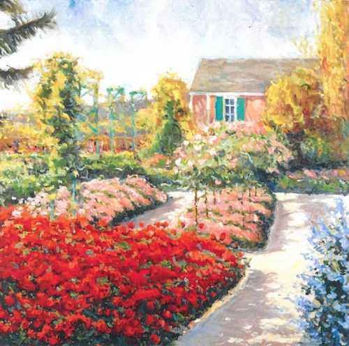 Geraniums of Giverny