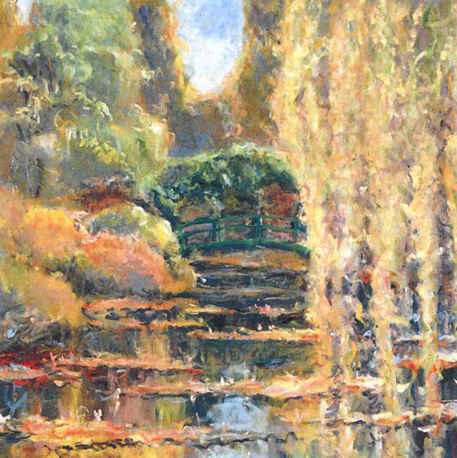 Golden Lilly Pond
