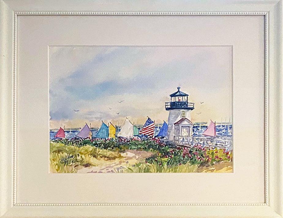 Rainbow's Return (Watercolor, 16 1/2 x 22 1/2)